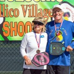 mixed doubles third place van Campen 3539